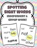Spotting Sight Words
