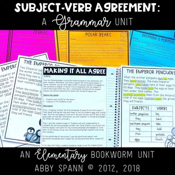 Spotting Subject-Verb Agreement