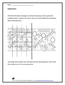 Spotting Visual Similarities and Differences Teacher Works