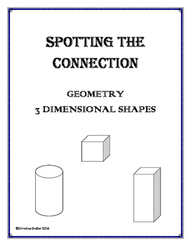Spotting the Connection- 3D Shapes