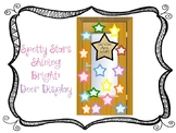 Spotty Stars Shine: Classroom door display