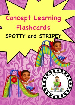 Spotty and Stripey Concept Learning Flashcards