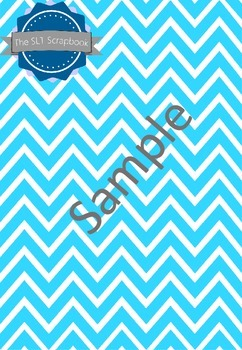 Spotty and Chevron Background Papers Bundle- Personal and Commercial Use