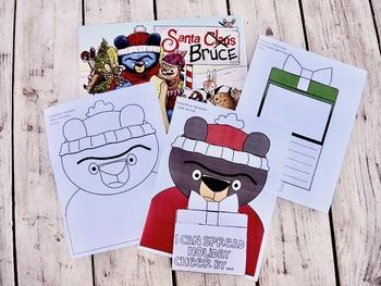 Spread Holiday Cheer with Santa Bruce ~ Craftivity