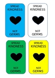 Spread Kindness, Not Germs - Label