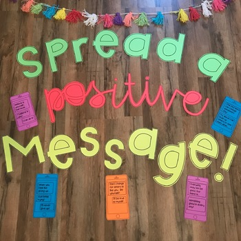 Spread a Positive Message Bulletin Board Display