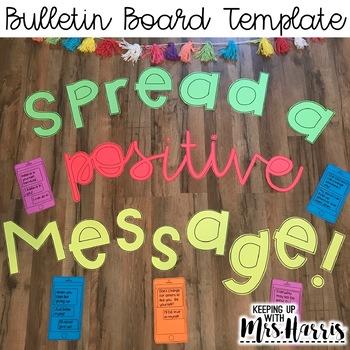 Spread a Positive Message Bulletin Board Display