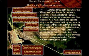 Spread of Christianity in the Roman Empire