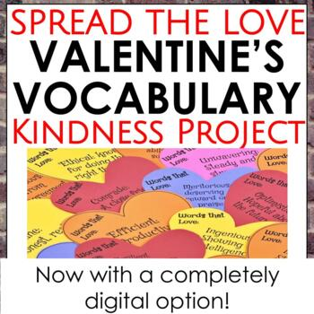 Spread the Love Valentine's Vocabulary Project
