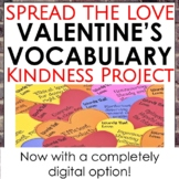 Spread the Love Valentine's Vocabulary Project