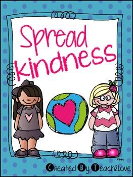 #KindnessRules: Kindness Activities Freebie