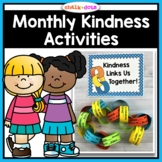 Kindness Activities | Monthly Kindness Activities and Posters