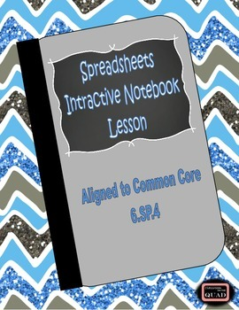 Spreadsheet Interactive Lesson {6.SP.4}