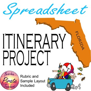 Spreadsheet Project: Making a Trip Itinerary