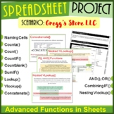 Spreadsheet Skills Project for Google Sheets ¦ Advanced Sp