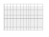 Spreadsheet with apples border Editable