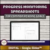 Spreadsheets for Reading Progress Monitoring: Generate gra