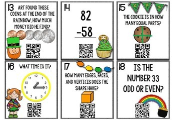 Math QR Code Scoot