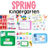 Spring Kindergarten Math & Literacy Centers   March Morning Work Tub Activities