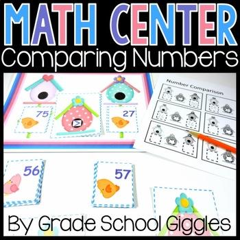 Spring Number Comparison Center