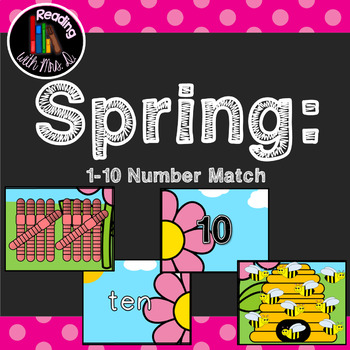 Spring 1-10 Number Match Game