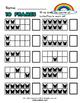 Spring 10 Frames Math Worksheets