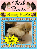 Spring Science Activities: Chick Facts Activity Packet - BW Version