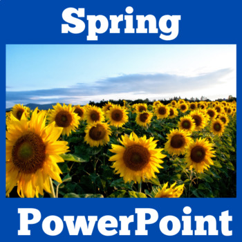 Spring | Spring PowerPoint | Seasons Spring | Spring Activity