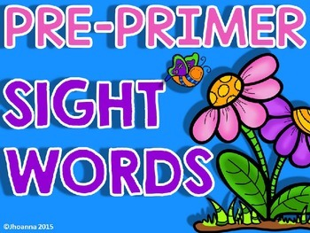Sight Words Writing Practice
