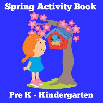 Spring Activity | Spring Worksheets | Spring Unit | Spring Kindergarten