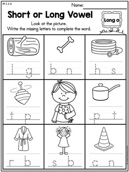 Spring 1st Grade Literacy Worksheets (Common Core Aligned)