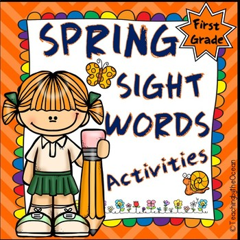 Spring 1st Grade Sight Words