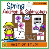 Spring 2 Addend Addition & Subtraction With Ten Frames