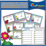 Spring 2 Digit By 2 Digit Multiplication Task Cards With R