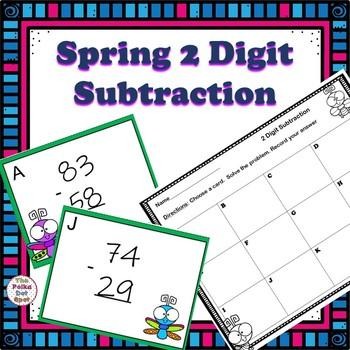 Spring 2 Digit Subtraction Center