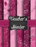 Spring 2014 Lesson Plan Binder Cover with dividers