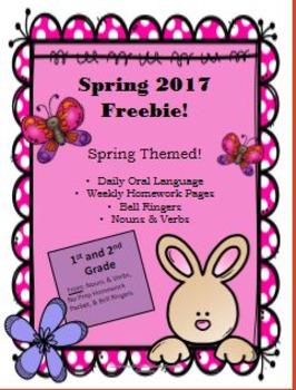 Spring 2017 Freebie!