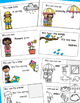 Spring Activities, Spring Words, Emergent Reader and Cut and Paste Reader