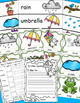 Spring Writing Pocket Chart Cards, Spring Themed Writing Activities