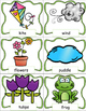 Spring Words, Pocket Chart Cards, Spring Themed, Writing A
