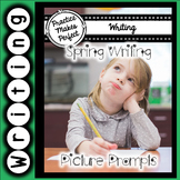 #springdollardeals Spring Writing Picture Prompts