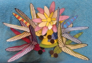Spring Craft: Dragonflies & Water-Lily Craft Activity