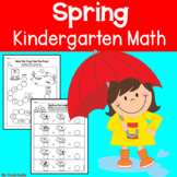 Spring Math Worksheets (Kindergarten, Spring Activities)
