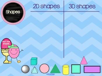 Spring 2D & 3D shapes