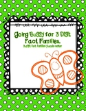 Spring 3 digit fact families puzzle center