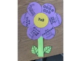 Spring 3rd Grade Multiplication/Division Flower