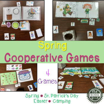 Spring 4 in 1 Games