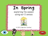 Spring 5 Senses Book (Writing Prompt)