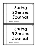 Spring 5 Senses Journal- differentiated