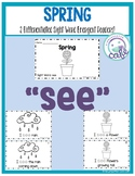 "Spring: A Sight Word Emergent Reader: ""See"""